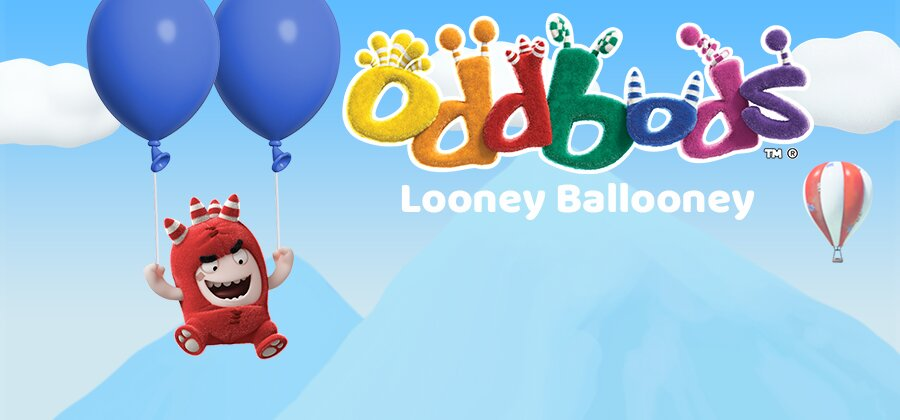 OddBods Looney Ballooney